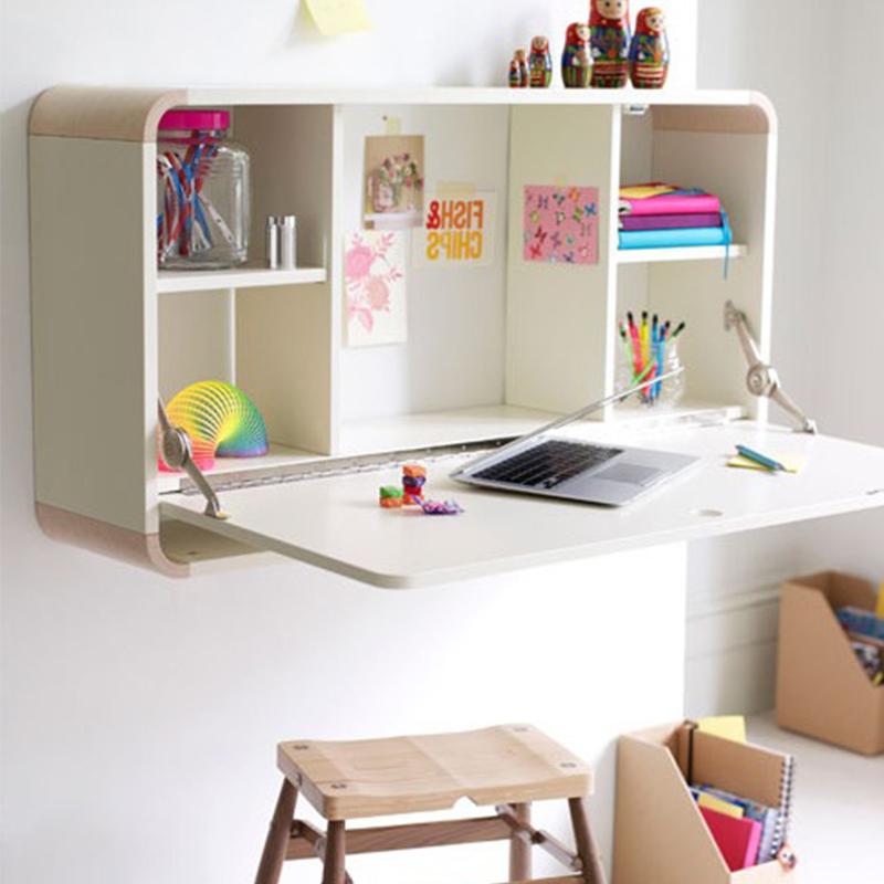 Chegada nova pull down desk montado na parede sala de - Mesa estudio plegable ...