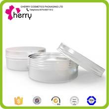 aluminum cream jar wholesale 50g aluminum jar