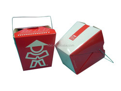 alibaba express Food grade noodle box sushi container