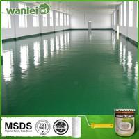 Double component high quality liquid plastic floor coating