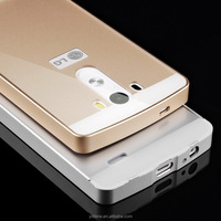 Mobile phone accessories metal bumper frame 5.5 inch cell phone case for lg g3 case