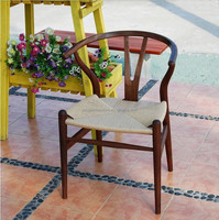 Popular Hans J Wegner Y Chair,Classic antique Wood Rattan Hans Wegner Y Chair For Restaurant and wood design wooden dining chair