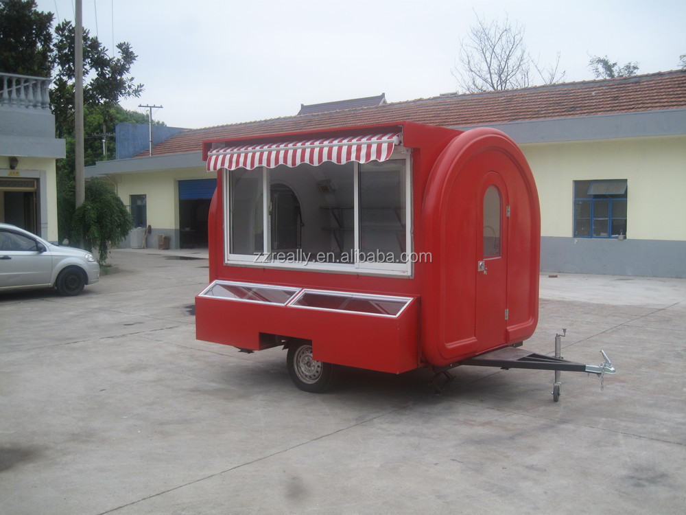 Hamburger distributeur chariots mobile cuisine food for Remorque cuisine mobile