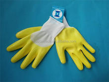 Cheap Nitrile Coated Gloves dotted nitrile Made in China