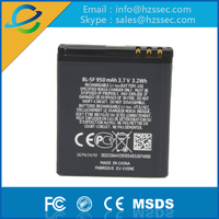 Replacement low price mobile phone battery for nokia bl-5f