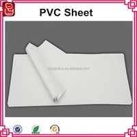 Matt matt flexible plastic film white PVC rigid sheet 0.3mm