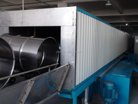 Automatic Steel Barrel Making Machines - Cleaning drying painting drying line