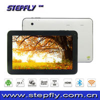 10.1 inch Allwinner A31S Quad Core Android 4.4 Bluetooth RAM 1GB ROM 8GB android tablet pc SF-Q102
