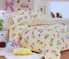 nantong factory customized printing cute baby duvet set