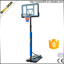wholesale plastic basketball system set