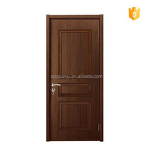 Interior mdf wooden coated cheap pvc door for room