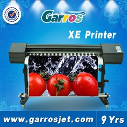 GARROS XE-1801 Wide Format Eco Solvent Printers For 3d Printing