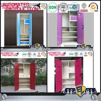 2015 new product corner cabinet bedroom furniture plastic clothing cabinet sale