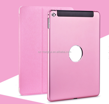 Best selling original fashoion leather case for ipad air 2 with all kinds of candy color HH-IP603(5)