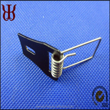 High quality downlight torsion spring clip with plastic finish ,nickel plated