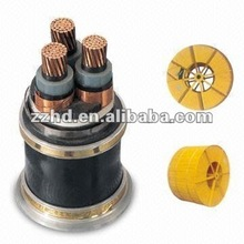 YJV22 XLPE Insulated electrical Cable with 0.6/1 to 26/35kV