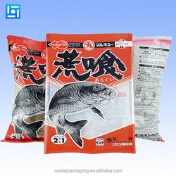 custom printing Matte face plastic zipper bag/pouch for pet food packaging