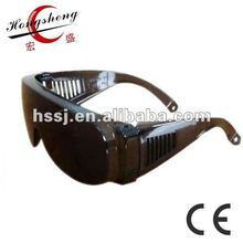 2014 new wide feet frame glasses of 2.2mm PC lens against sunshine