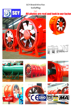 auxiliary ventilation fan/Exported to Europe/Russia/Iran