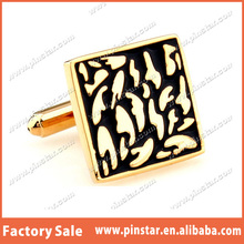 Newly High Quality Cheap Flowing River of Gold Mens Cufflinks
