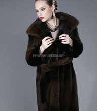 Mink fur coat for women with high quality and keep warm/look fashion