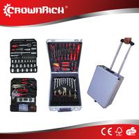 186PCS Aluminium Electrical Complete Case Plumbing Tool Set