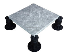 changeable covering for outdoor raised flooring