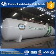CLW brand 50m3 lpg storage tank price