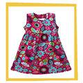Diseño de moda pequeño vestido de las niñas, más los niños vestido de diseños