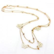 61293 collares chino de moda joyas de plata