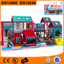 children used commercial amusement equipment indoor playground for sale
