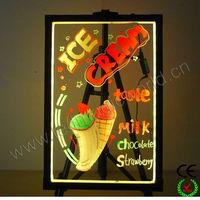 High quality flashing led writing poster board