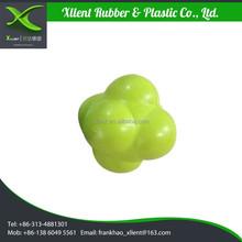 Rubber reaction training balls