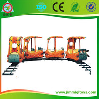 High Quality Commercial Usedamusement park electric train set for adults