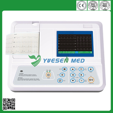 YSECG-03C hospital 3 channel digital price of ecg machine
