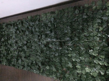 High quality and cheaper artificial leaf fence/wall for outdoor and garden landscape