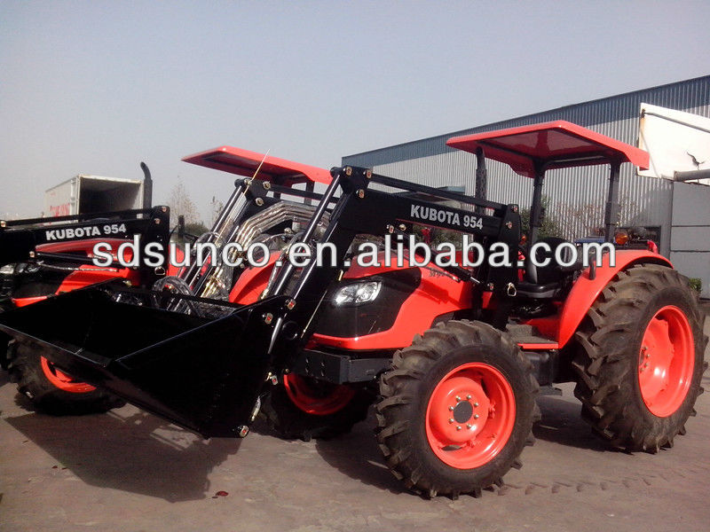 Used Lawn Tractor With Front Loader : Kubota small garden tractor used front end loader backhoe