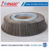 Tornado wood sanding flap wheels for grinding metal pipe
