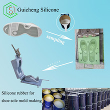 Low Price Liquid RTV-2 Silicone Rubber for Making Shoe Soles Mold