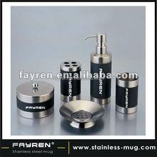 5 pcs Stainless Steel bathroom set bathroom accessory set