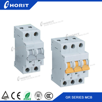 3 phase 6A-63A Electric MCB