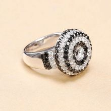 2015 hot fashion china factory direct wholesale rose cut diamond wedding pave setting pineapple ring jewelry