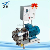 speed control 0.5hp rotary lobe pump ointment cream homogenizer emulsifier manual industry grease pump