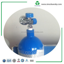 Hot Sale EN1975 Standard 2l Aluminum Beverage CO2 N2o N2 So2 Cylinder with Good Quality for Selling