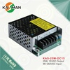 High Efficiency AC to DC 15VDC 25W Switching Power Supply