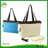 Hot Selling Yiwu Manufacturer Promotional Tote Diaper Bag
