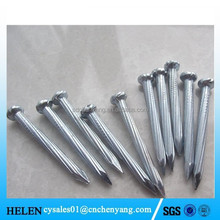 galvanized diamond point concrete nail factory price
