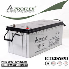 Pakistan Market 12V 200Ah Agm Deep Cycle Battery