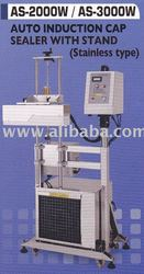 Auto Induction Cap Sealer with Stand - Stainless Steel