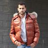 Custom Plus Size Clothing 2015 Fashion Winter Shiny Men's Down Coat Jacket Wholesale from China Supplier